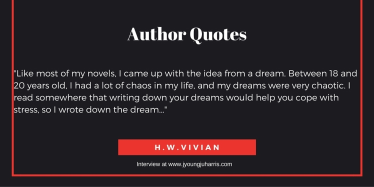 Author Quotes HW Vivian 1