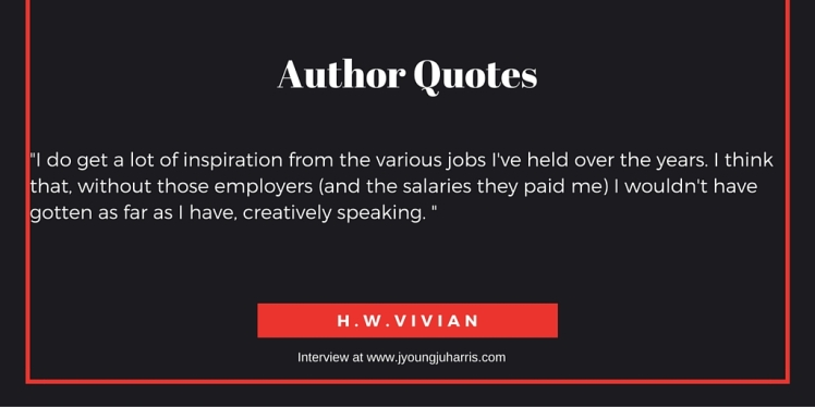 Author Quotes HW Vivian 2