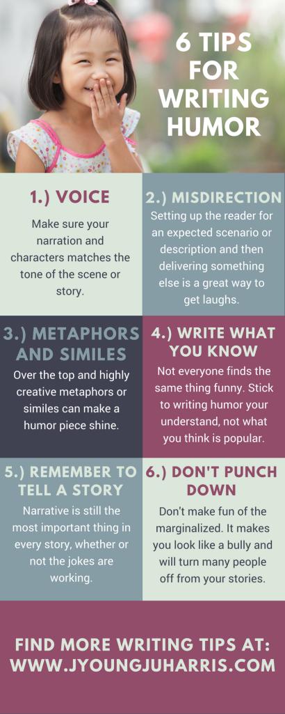 writinghumorinfographic